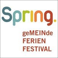Spring GemeindeFerien- Festival