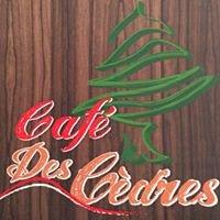 Cafe des cedres