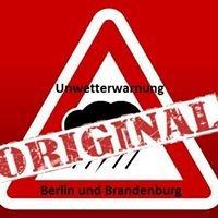 Unwetterwarnung für Berlin und Brandenburg - Das Original