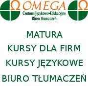 OMEGA  Centrum Językowo- Edukacyjne, Biuro Tłumaczeń
