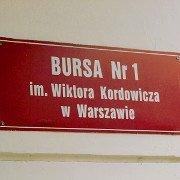 Bursa nr 1 im.Wiktora Kordowicza w Warszawie