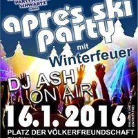 Aprés Ski Party Platz Der Völkerfreundschaft