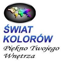 Świat Kolorów Kraków sklep z tapetami