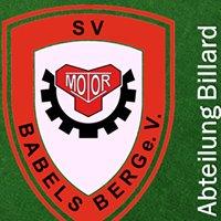 SV Motor Babelsberg e.V. / Billard