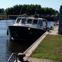 Am Hafen Wittenberge/Elbe