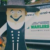 Zimmerei + Dachdeckerei Wahlers GmbH & Co. KG