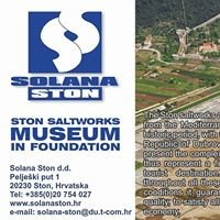 "Solana STON Salines Unique ""open-air"" museum"