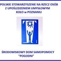 """ŚDS """"Pogodni"""" PSONI Koło w Poznaniu           KRS 0000027919"""