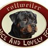 Nice And Lovely FCI - rottweiler