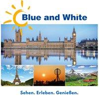 Blue and White Reisen