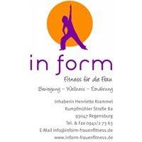 in form - Fitness für die Frau