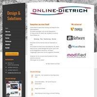 Online-Dietrich - Webseiten und Shopsysteme