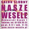 """Salon Ślubny """"Nasze Wesele"""""""