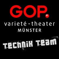GOP Varieté Theater Münster Technik-Team