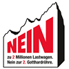 NEIN zur 2. Gotthardröhre