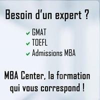 MBA Center - GMAT, TOEFL, MBA Application, Customized Training