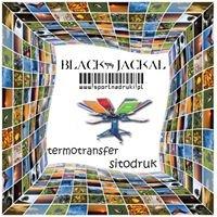 Nadruki na odzieży - Black Jackal