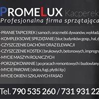 PromeLux' Kacperek. Firma Sprzątająca/Piorąca/Czyszcząca