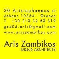 Aris Zambikos - Gr405 Architects