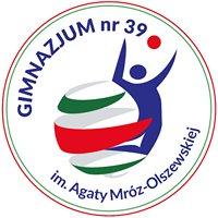 Gimnazjum nr 39 im. Agaty Mróz - Olszewskiej