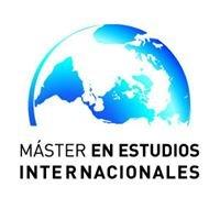 Máster en Estudios Internacionales