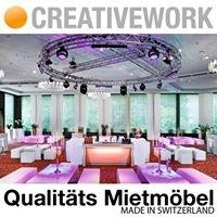 Creativework AG Event und Messe Möbel zum mieten