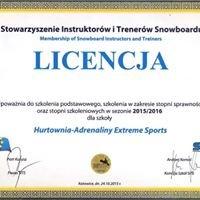 Licencjonowana Szkoła Snowboardu- Hurtownia Adrenaliny