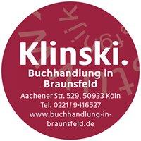 Klinski. Buchhandlung in Braunsfeld