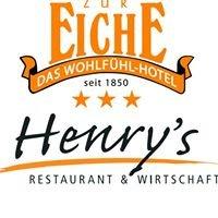 Restaurant Henry's, Flair Hotel Zur Eiche