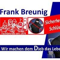 Frank Breunig Sicherheitstechnik + Schlüsseldienst