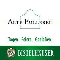Alte Füllerei - Veranstaltungszentrum der Distelhäuser Brauerei
