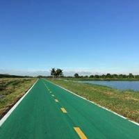 เส้นทางจักรยานสีเขียวรอบสนามบินสุวรรณภูมิ