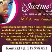 SALON URODY Justine Cosmetics