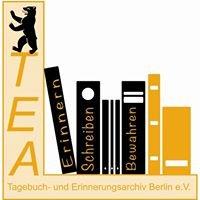 TEA Tagebuch- und Erinnerungsarchiv Berlin e.V.