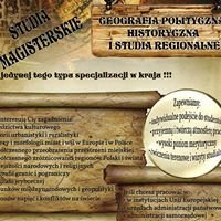 Katedra Geografii Politycznej, Historycznej i Studiów Regionalnych