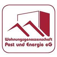 """Wohnungsgenossenschaft """"Post und Energie"""" eG"""