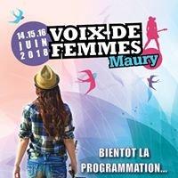 Festival Voix de Femmes de Maury