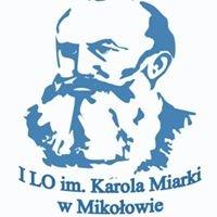 I Liceum Ogólnokształcące im. K.Miarki w Mikołowie