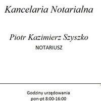 Kancelaria Notarialna Piotr Kazimierz Szyszko