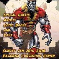 Pasadena Comic Book and Toy Show