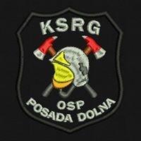 OSP KSRG Posada Dolna - Rymanów