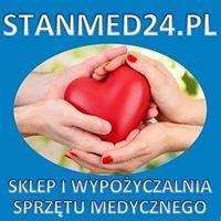 Stanmed24 - Autocpap, CPAP, koncentratory tlenu, łóżka rehabilitacyjne
