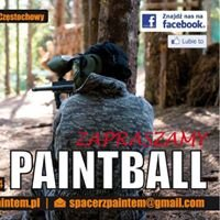 Paintball Spacer z paintem