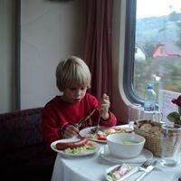Catering, ubytování a další služby na železnici.