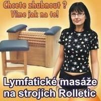 Rolletic Studio v Č.B.- Lymfatické masáže, hubnutí, diety