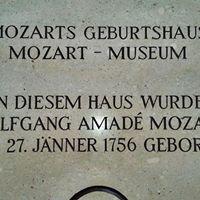 Mozart Geburtshaus , Salzburg , Österreich