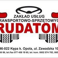 Zakład Usług Transportowo - Sprzętowych Rudatom Dariusz Sznotala
