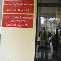 Liceum Ogólnokształcące LOKOS  ul.Rojna 33 w Łodzi