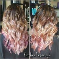 Hairstyle by Karolina Leszczyk.