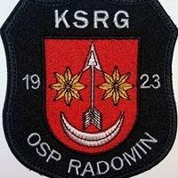OSP KSRG Radomin
